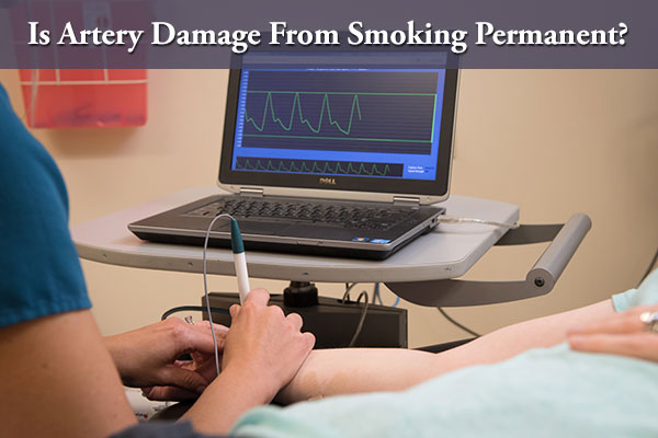 Is Artery Damage From Smoking Permanantly?